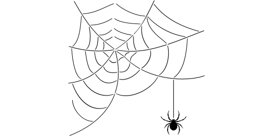 140 Spider Web - Click Image to Close