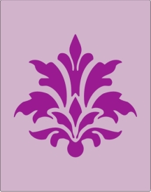 511 Floral Motif - Click Image to Close