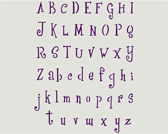 556 Lettering Mini - Click Image to Close