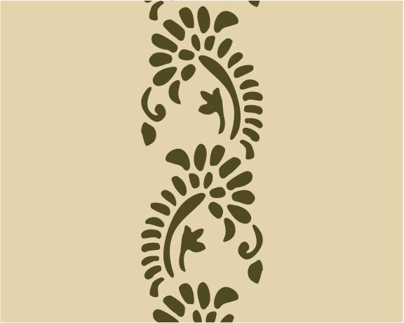 Simple Stencil Designs : Simple floral stencil designs pixshark images