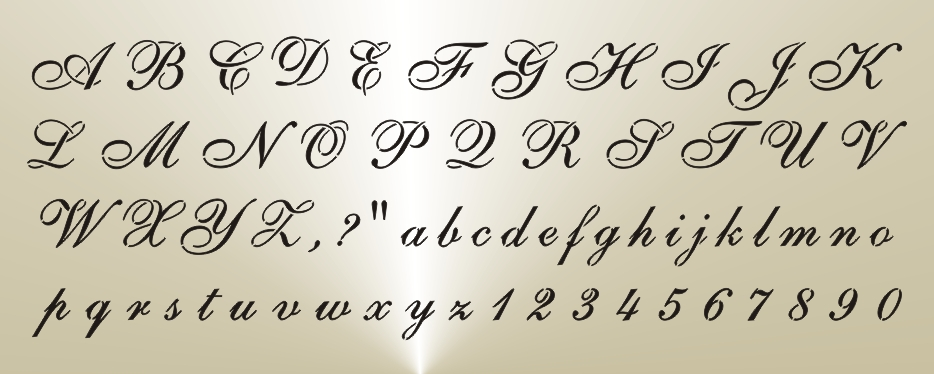 Alphabet Letters In Cursive Fontsangel Wings On Back Of Pantsstock Photo Free Royaltycreate Own Website South Africa
