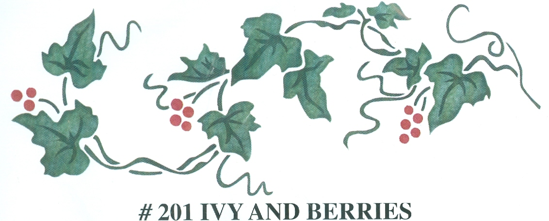 BEV00201 Ivy and Berries