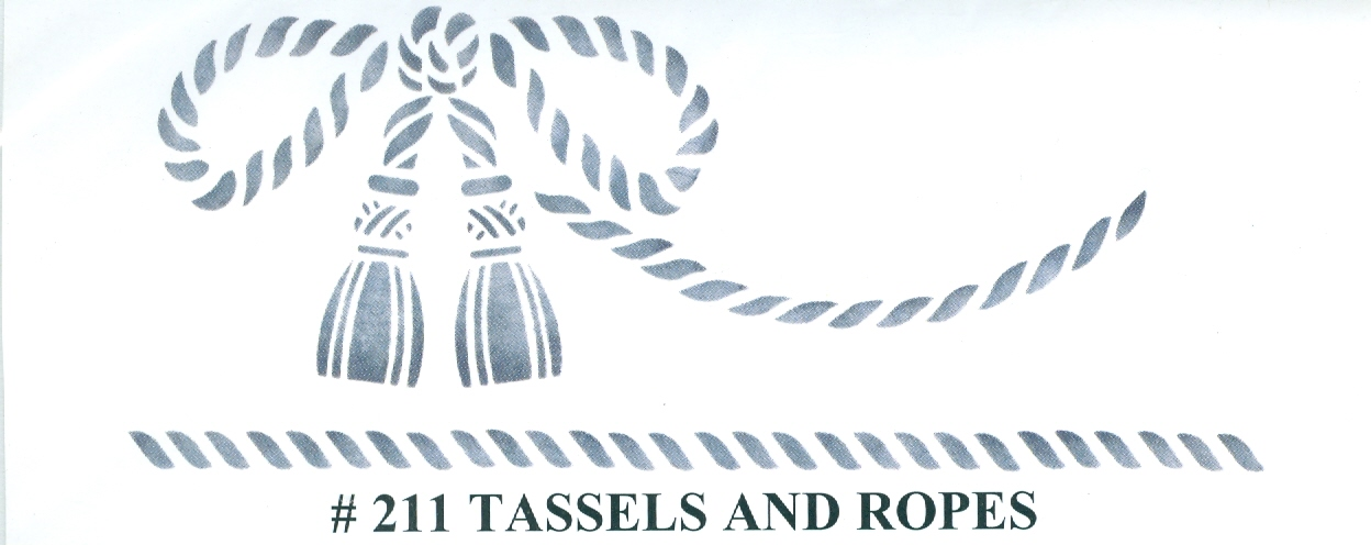 PKG13900 Nautical Ropes - $7.98 : Stencil Source, Stencils ...