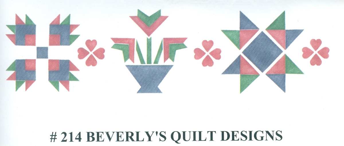BEV00214 Beverly's Quilt Designs