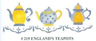 BEV00219 England's Teapots - Click Image to Close