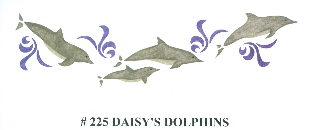 BEV00225 Daisy's Dolphins - Click Image to Close