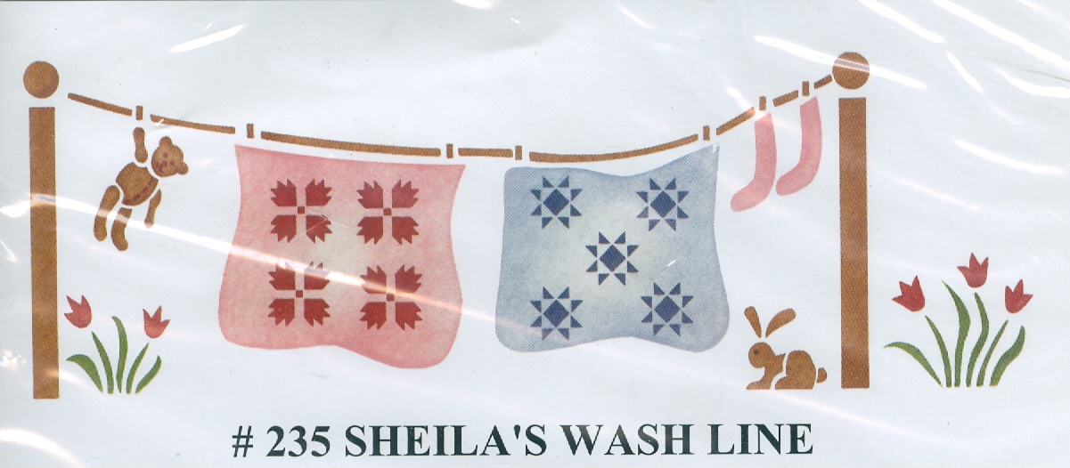 BEV00235 Sheila's Wash Line - Click Image to Close