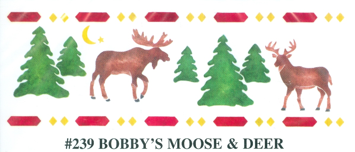 BEV00239 Bobby's Moose and Deer - Click Image to Close