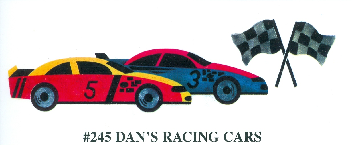 Race Car Stencils Images