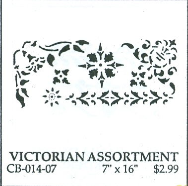 CB01407 Victorian Assortment