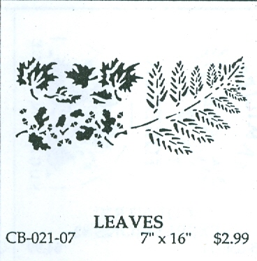 CB02107 Leaves