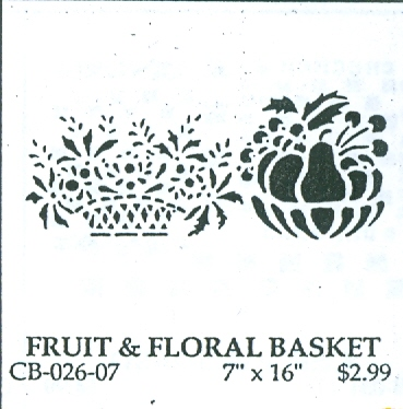 CB02607 Fruit/Floral Basket