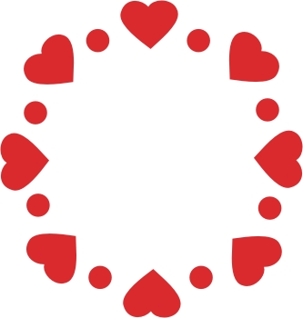 CBL16904 Heart Circle - Click Image to Close
