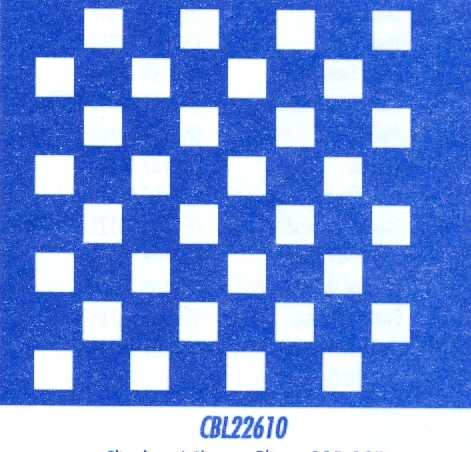CBL22610 Checker/Chess Board 10""