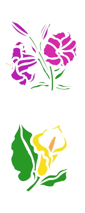 Cbo01104 spring day 4 249 stencil source stencils and stencil cbl59005 day and calla lily mightylinksfo