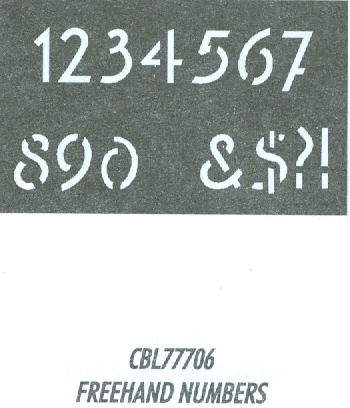 CBL77706 Monogram Guide: Freehand 1.5""