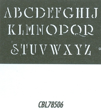 CBL78506 Monogram Guide: Academic 1""