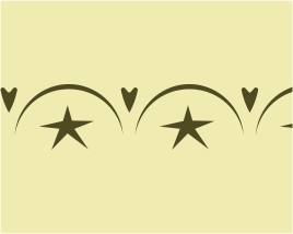 CBO58403 Lg. Stars/Hearts/Crescents