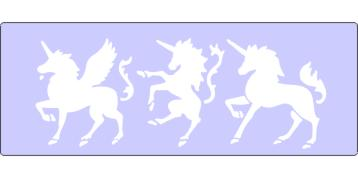 CBO60705 Prancing Unicorns