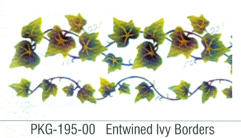 PKG19500 Entwined Ivy Borders - Click Image to Close