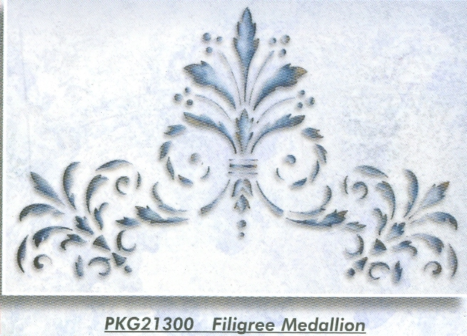 PKG21300 Filigree Medallion