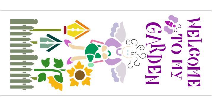 Attrayant PKG42500 Garden Welcome